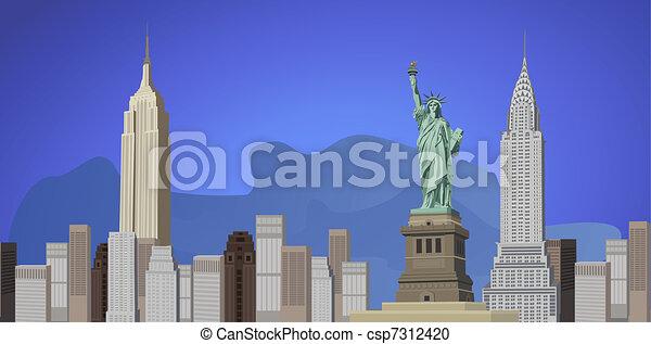 Ciudad de Nueva York - csp7312420