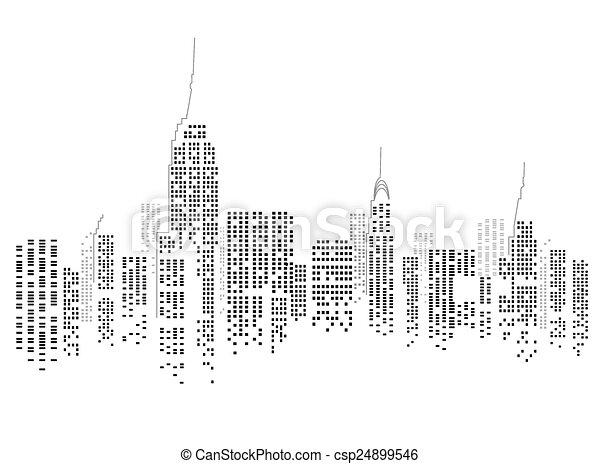 Ciudad de Nueva York - csp24899546