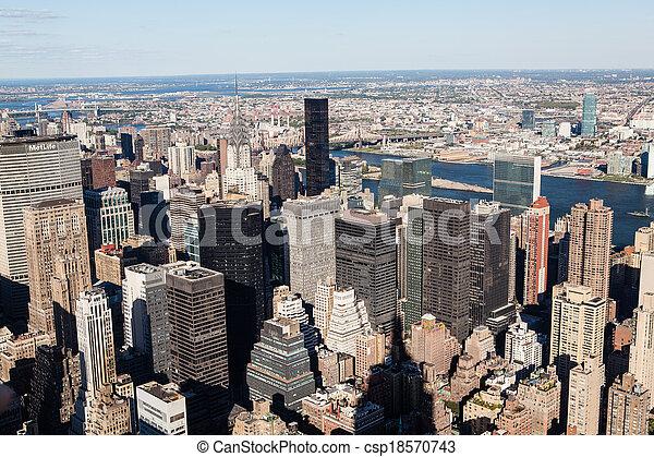 ciudad nueva york - csp18570743