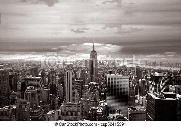 Ciudad de Nueva York - csp52415391