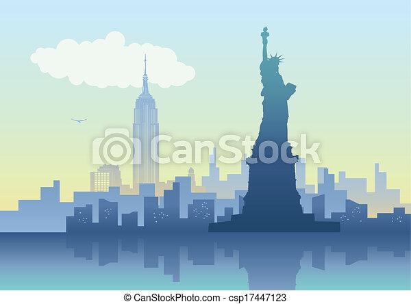 Ciudad de Nueva York - csp17447123