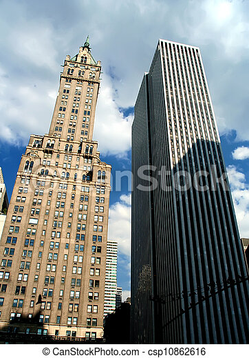 ciudad nueva york - csp10862616