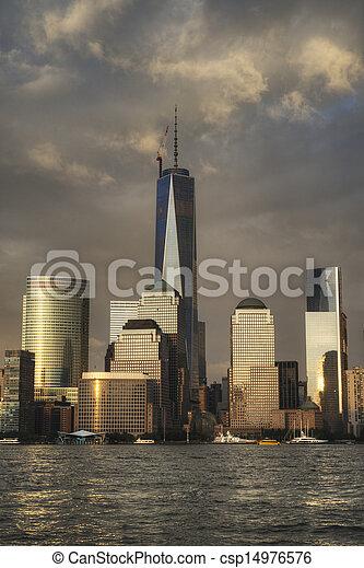 ciudad nueva york - csp14976576