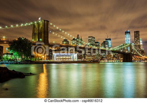 ciudad nueva york - csp46616312