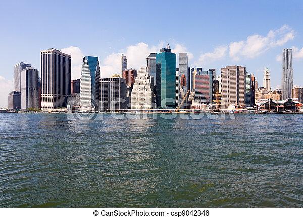 ciudad nueva york - csp9042348