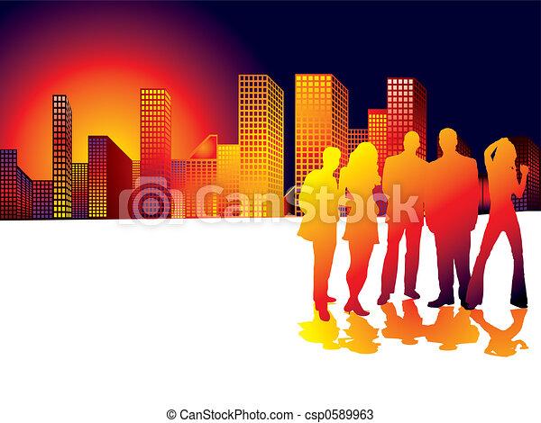 Sunset City - csp0589963