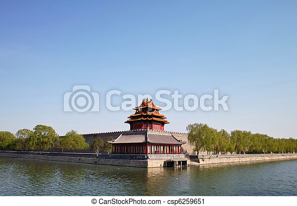 Ciudad prohibida, Beijing, China - csp6259651