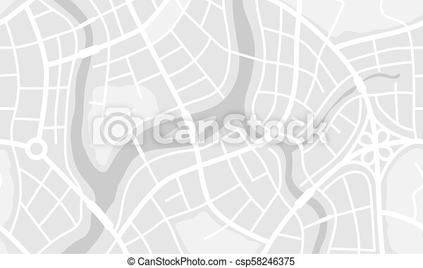Abstraer la bandera del mapa de la ciudad. - csp58246375