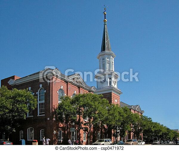 Torre de control del ayuntamiento - csp0471972