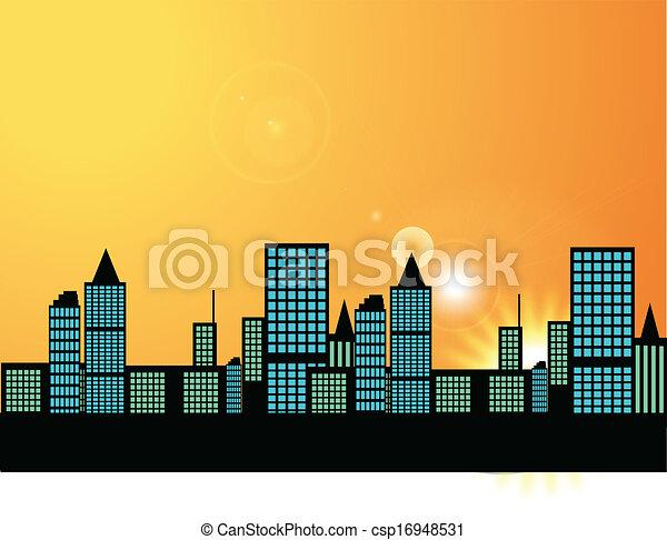 Ciudad - csp16948531