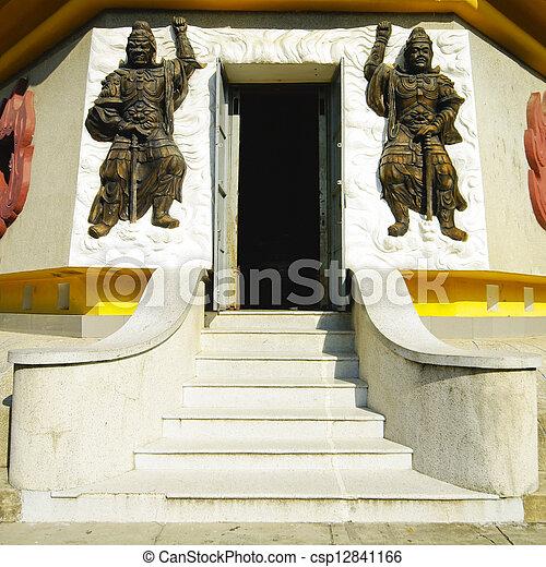 Templo Vietnam en Natrang - csp12841166
