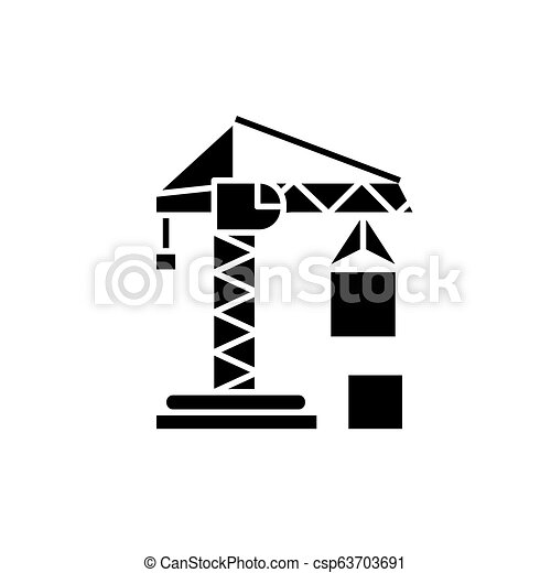Crane Computer Icons Pictogram Cần trục tháp Symbol, crane construction,  angle, white png | PNGEgg