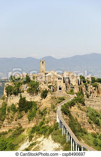 Civita di Bagnoregio (Italy) - csp8490697