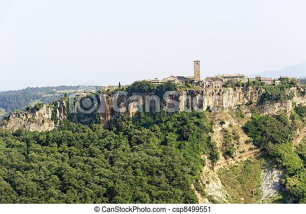 Civita di Bagnoregio (Italy) - csp8499551