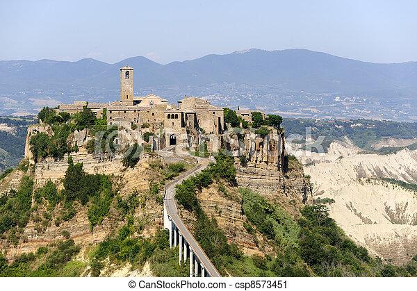 Civita di Bagnoregio (Italy) - csp8573451