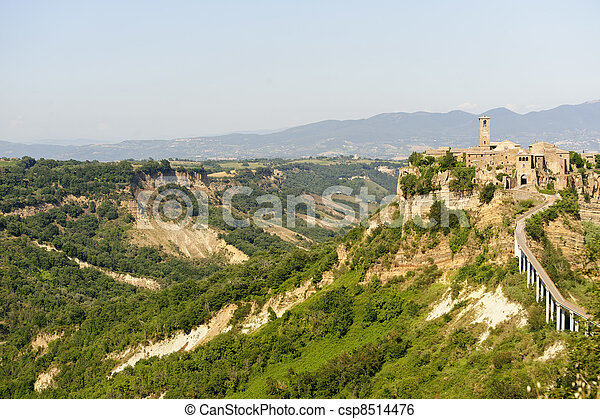 Civita di Bagnoregio (Italy) - csp8514476
