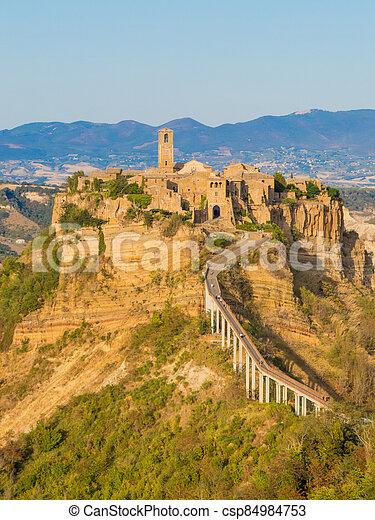 Civita di Bagnoregio, Italy - csp84984753