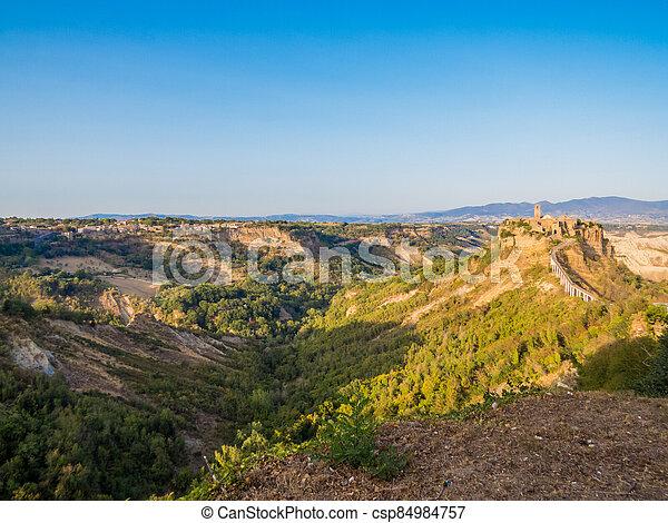 Civita di Bagnoregio, Italy - csp84984757