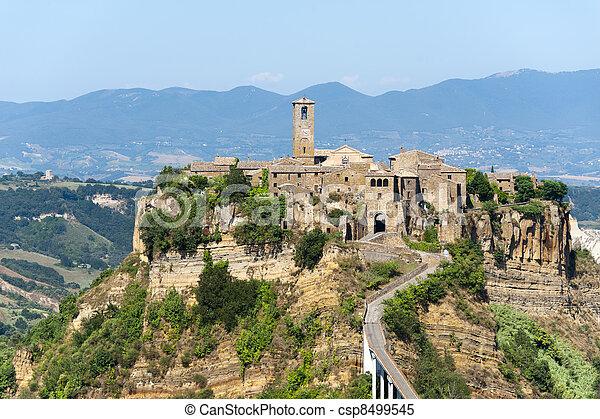 Civita di Bagnoregio (Italy) - csp8499545