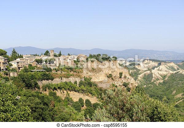 Civita di Bagnoregio (Italy) - csp8595155