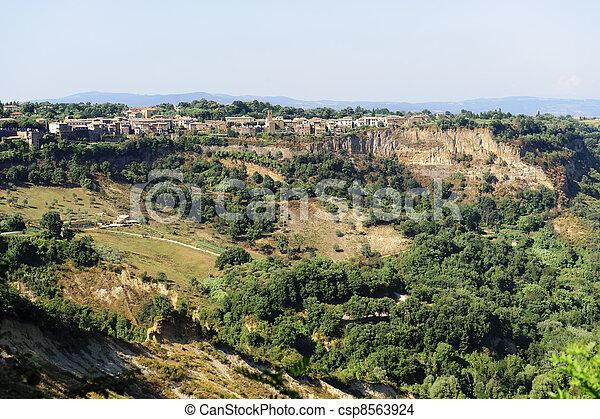 Civita di Bagnoregio (Italy) - csp8563924
