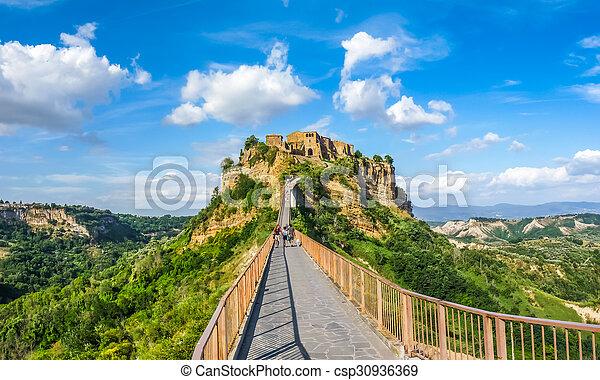 Civita di Bagnoregio, Lazio, Italy - csp30936369