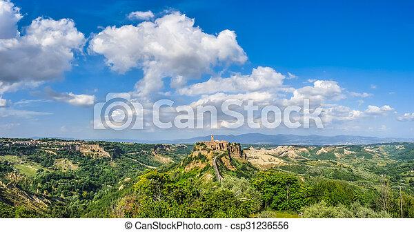 Civita di Bagnoregio, Lazio, Italy - csp31236556