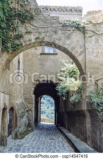 Civita di Bagnoregio - csp14547416