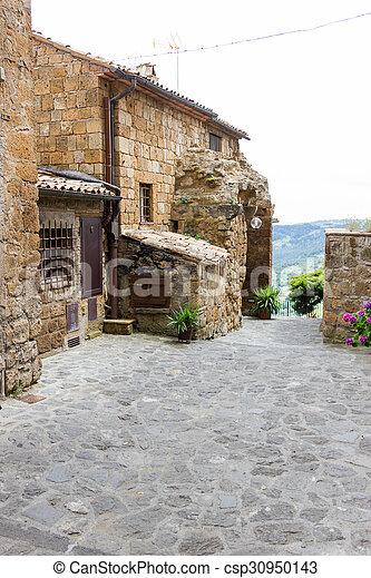 Civita di Bagnoregio - csp30950143