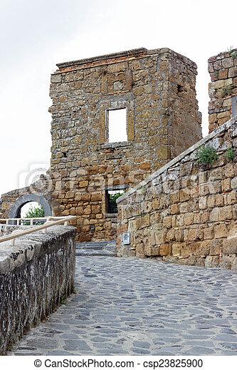 Civita di Bagnoregio - csp23825900
