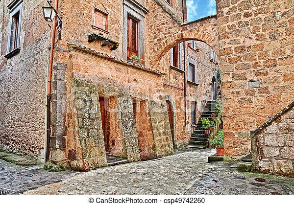 Civita di Bagnoregio, Viterbo, Lazio, Italy - csp49742260