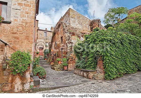 Civita di Bagnoregio, Viterbo, Lazio, Italy - csp49742259