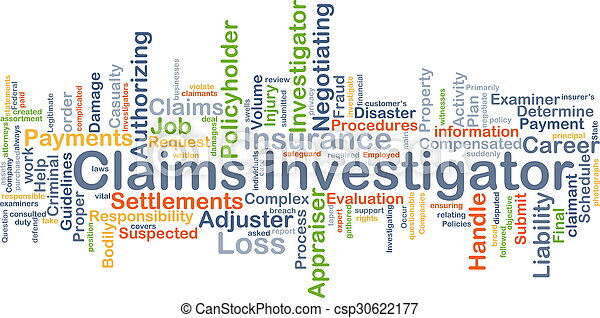 claims, 概念, 背景, 調査官 - csp30622177