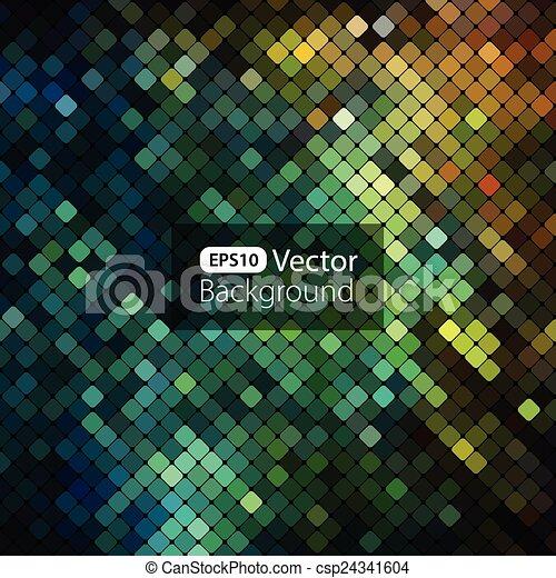 clair, coloré, mosaïque, fond - csp24341604