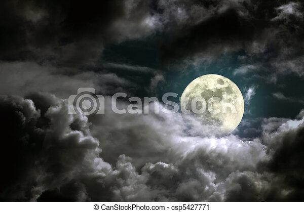 clair lune - csp5427771