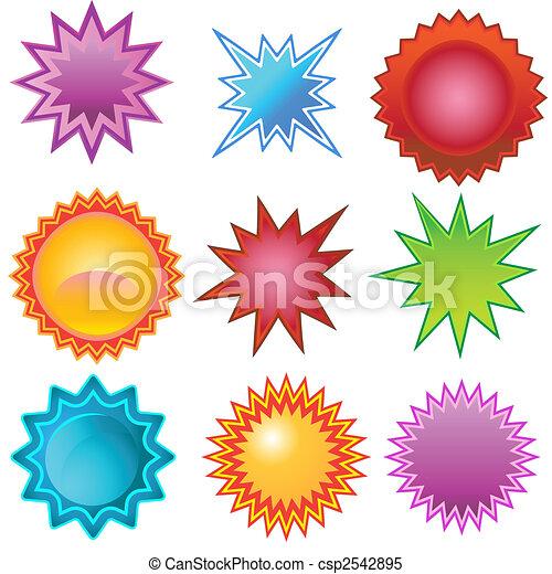 clair, starburst, ensemble - csp2542895