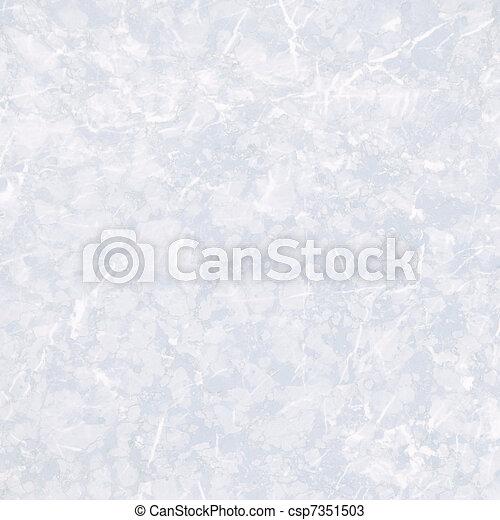 clair, texture, marbre, lisser, blanc - csp7351503