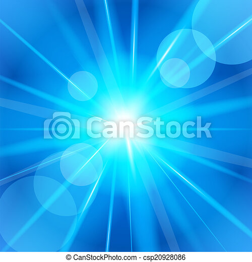 clair, vecteur, star., illustration. - csp20928086