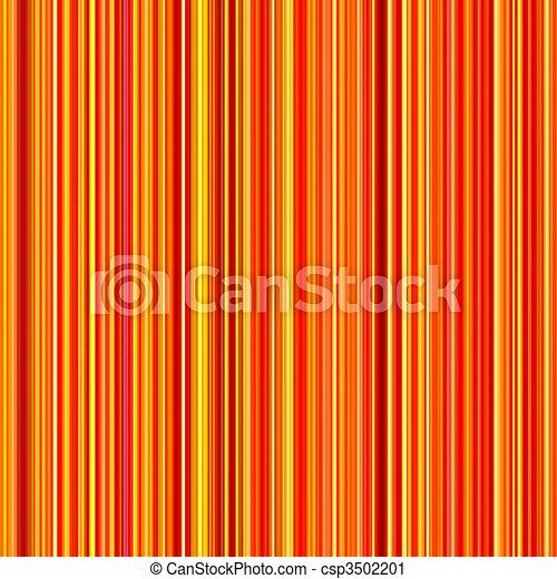 Clair, Vertical, Modèle, Lignes, Seamless, Jaune, Arrière Plan., Couleurs,  Orange
