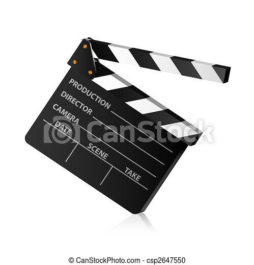 Clap board - csp2647550