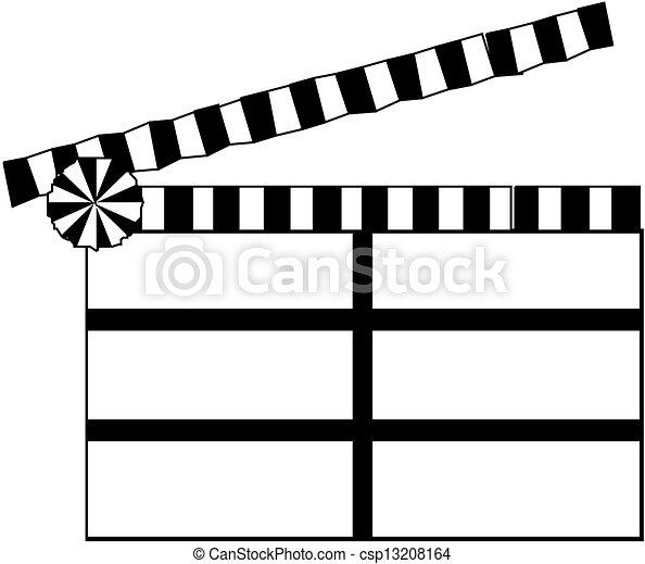 Clapper board - csp13208164