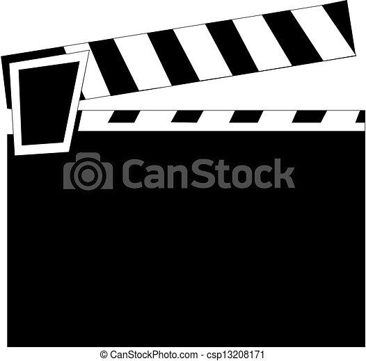 Clapper board - csp13208171