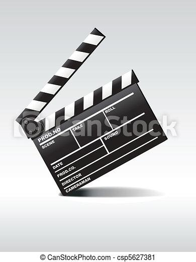 Clapper board - csp5627381