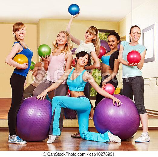 class., aeróbica, mulheres - csp10276931