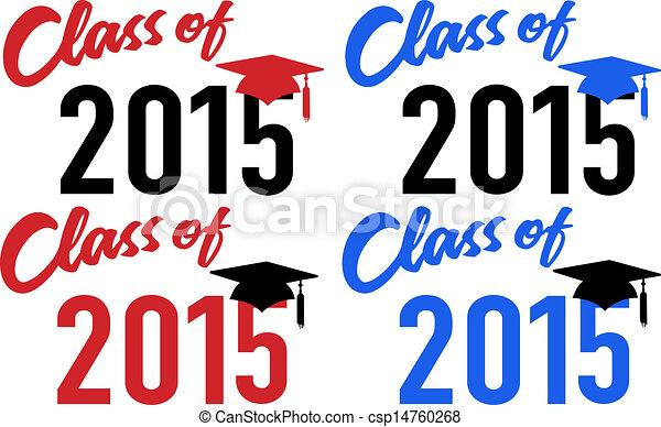 Class of 2015 school graduation date cap - csp14760268