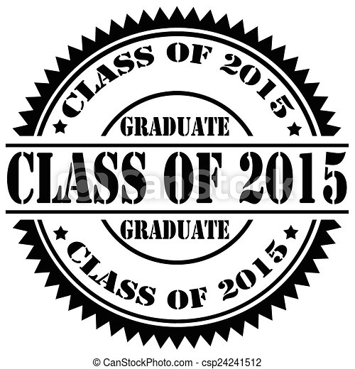 Class Of 2015 >> Rubber Stamp With Text Class Of 2015 Vector Illustration