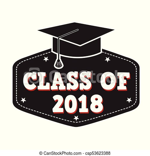 Class of 2018 label