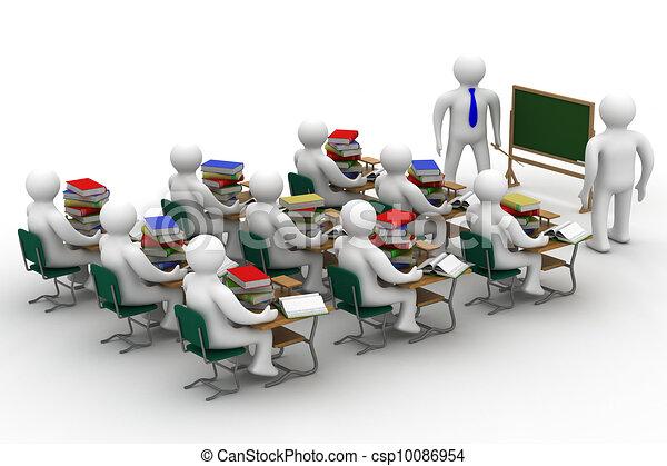 Class scuola image isolato lezione 3d for Disegno 3d free