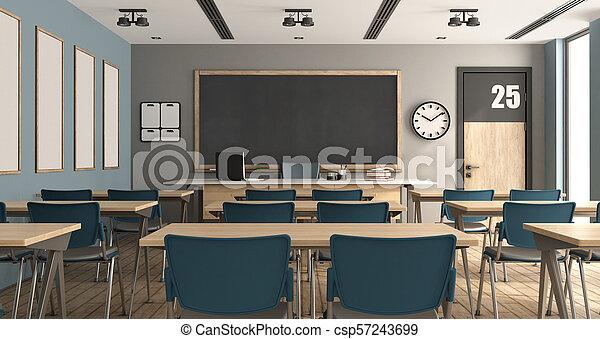 classe, moderne, vide - csp57243699
