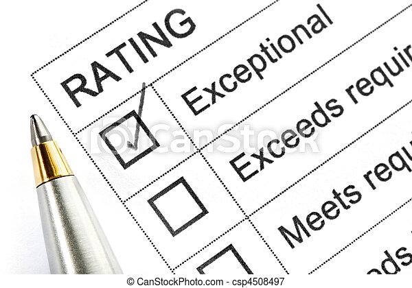 classement, exceptionnel - csp4508497